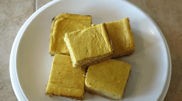 Keto Pumpkin Pie Cheesecake Bars Step 10