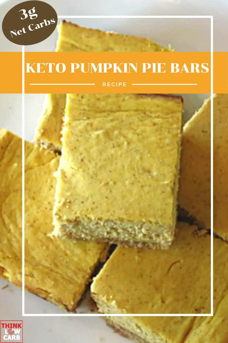 keto pumpkin pie cheesecake bars