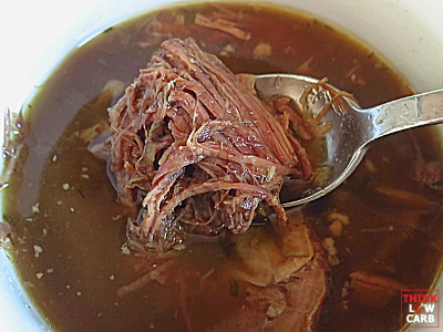 Fall Off the Fork Keto Instant Pot Beef Pot Roast
