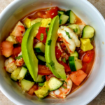 Keto Avocado Shrimp Mexican Ceviche