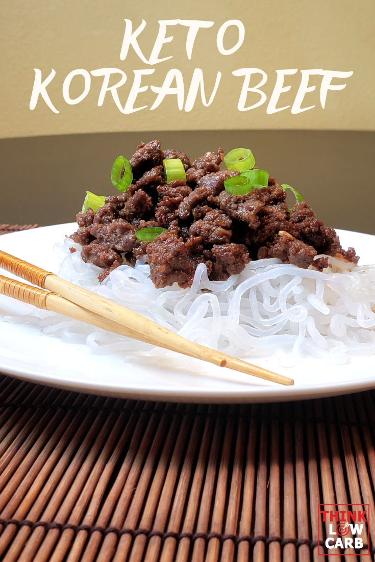 Keto Korean ground beef