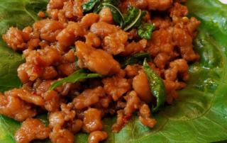 Keto Thai Chicken Basil