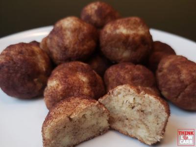 "Keto ""Apple"" Cinnamon Donut Holes"