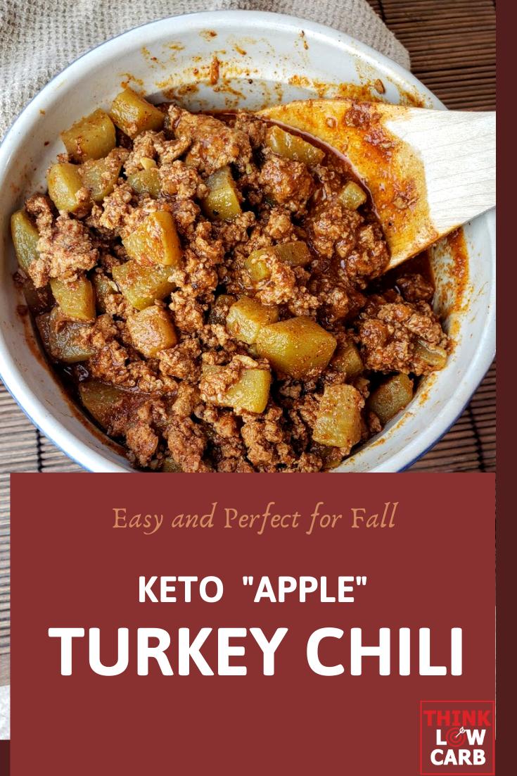 "Keto Turkey ""Apple"" Chili"