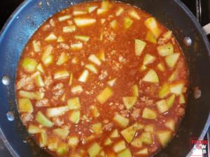 Keto Turkey Apple Chili