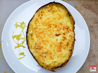 """Ultimate Baked Creamy Keto """"Mac"""" and Cheese"""