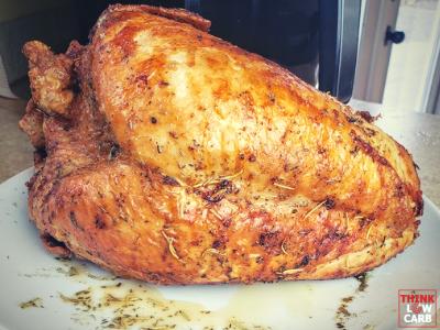 Keto Air Fryer Turkey Breast