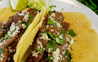 Keto Carne (Steak) Mexican Street Tacos